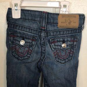 3T true religion jeans